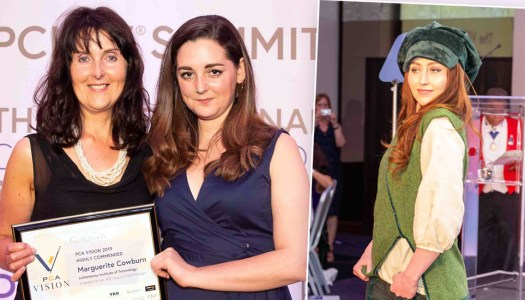 Marvellous Marguerite flying high with workwear fashion award