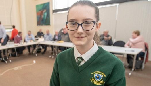 Top of the class: Arranmore girl wins trip to the EU Parliament