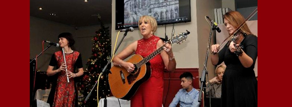 Events: Anne Nicholls and guests launch charity Christmas CD