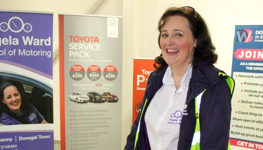 Events: Driving Instructor Angela Ward celebrates 15 years on the road