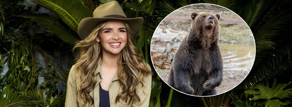 Nadine Coyle gets jungle ready… with Donegal's bears!