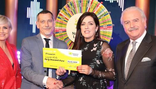 Lucky Louise bags €40,000 on Winning Streak