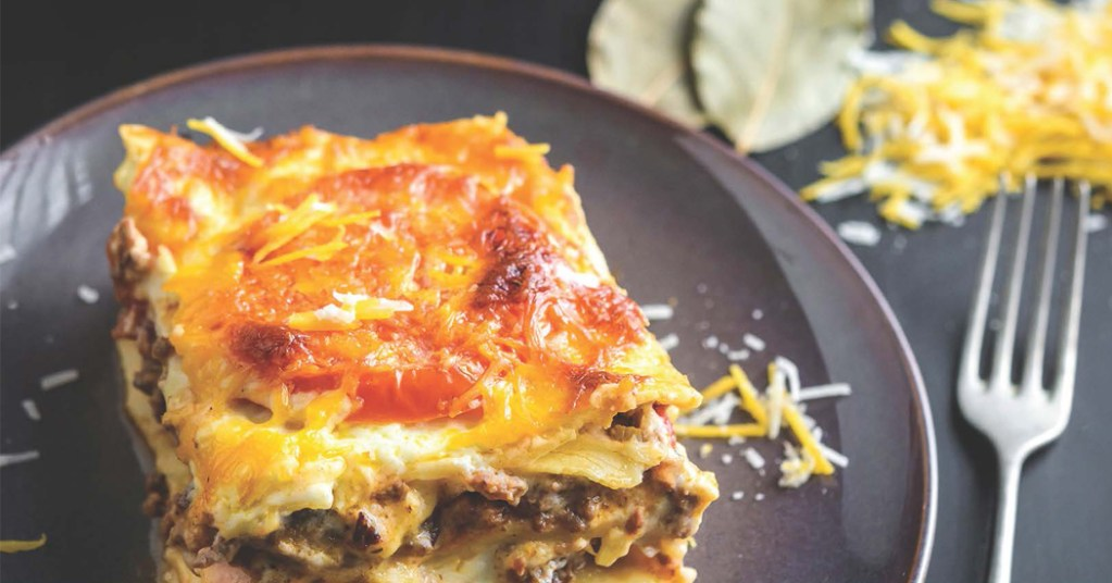 Recipe: Low-calorie lean lasagne