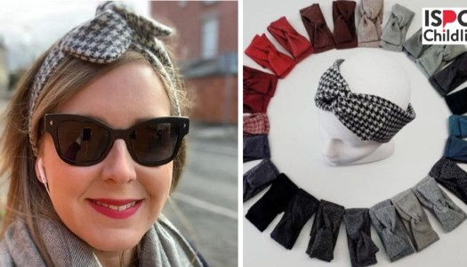 The Donegal-made hairband that doubles as a root cover-up