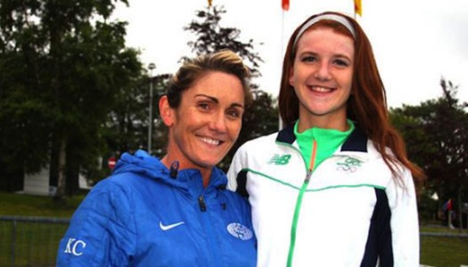 Athlete Arlene Crossan can't wait to get back on track