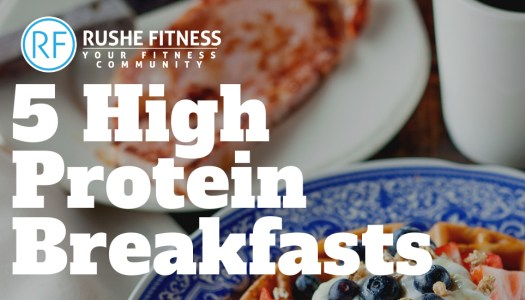 Five high protein breakfast recipes