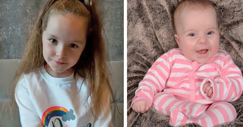 Thoughtful schoolgirl begins children's fundraiser for Baby Livie