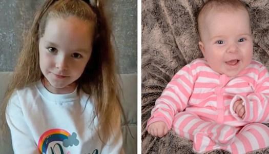 Thoughtful schoolgirl begins children's fundraiser for Baby Livie