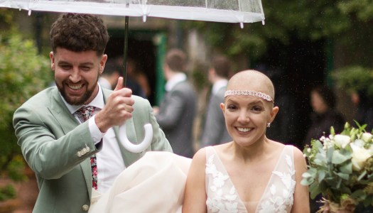 Meet the young couple facing cancer in style