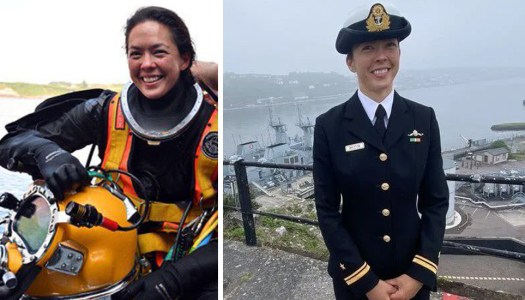 Donegal diver makes history in the Navy