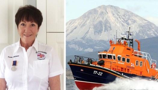 Thank you, Nora: RNLI celebrates Arranmore woman's 25 years of voluntary work