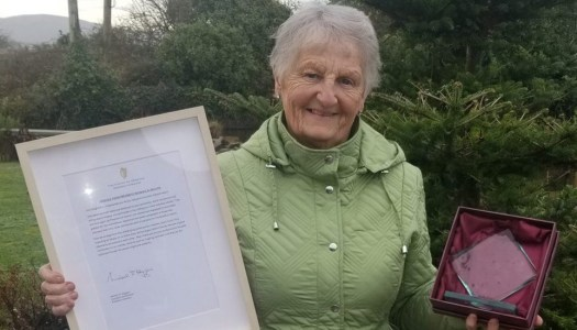 Donegal woman wins National Volunteer Award