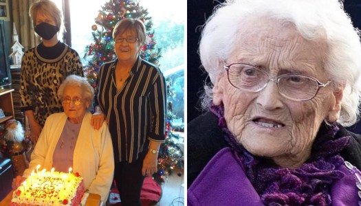 Donegal woman celebrates 105th birthday with hope for 2021