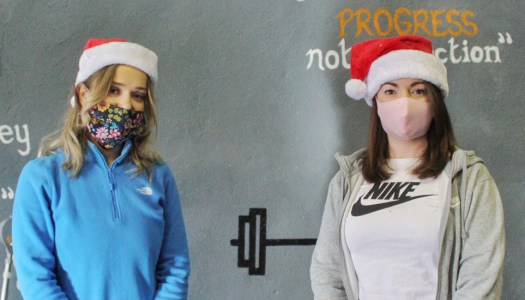 Inspirational exercisers take on one-of-a-kind challenge to step into Christmas