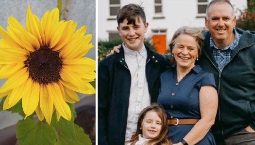 Joyous flower festival to remember John, Tomás and Amelia Mullan