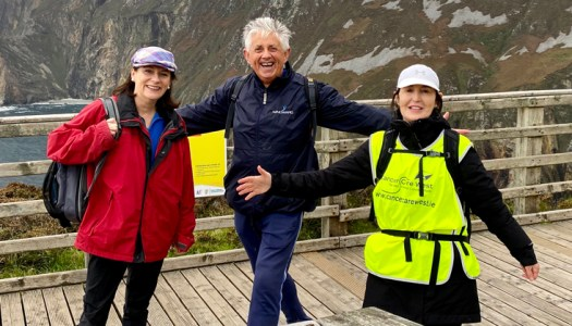Walkers invited to conquer Donegal Camino with Peggy, Noel & Deirdre