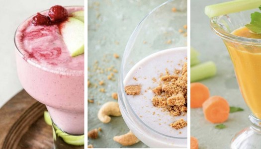 Recipes: Three healthy summer smoothies