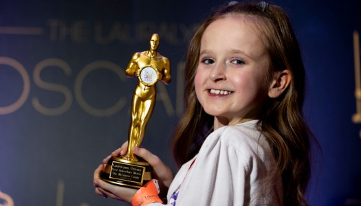 Kalize has winning role at LauraLynn Oscars!
