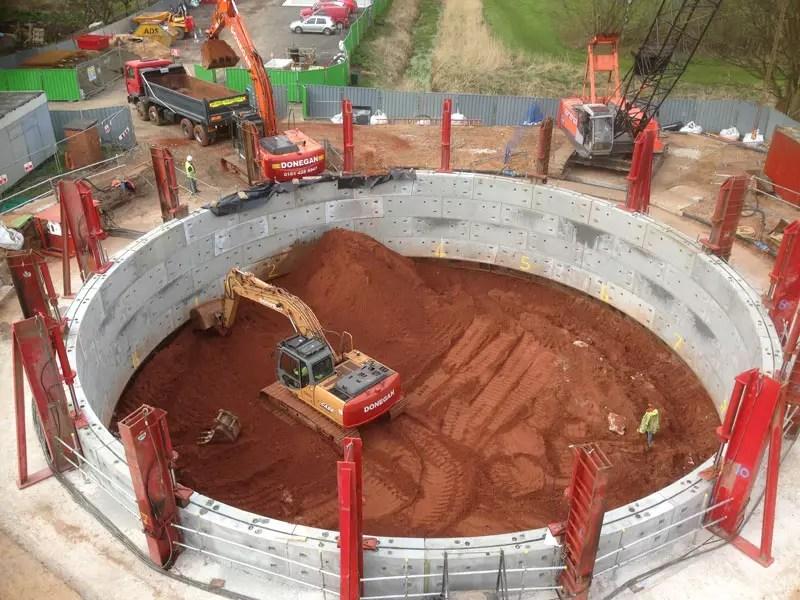 Segmental Shaft Sinking - Construction