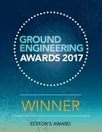 Ground Engineering Awards 2017 Winner