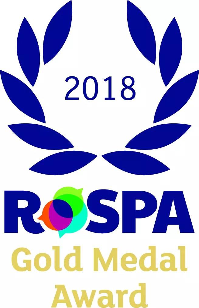 ROSPA Gold Medal Award 2017