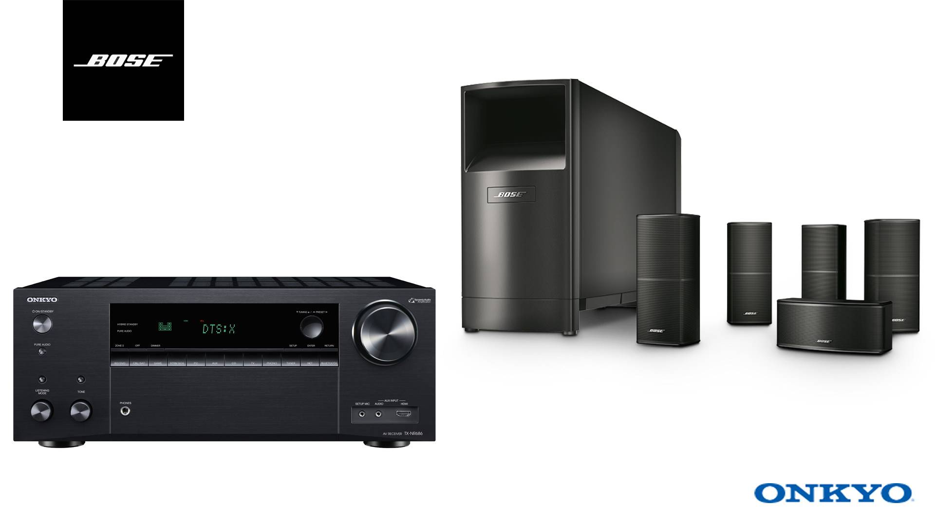 hight resolution of bose onkyo package 4