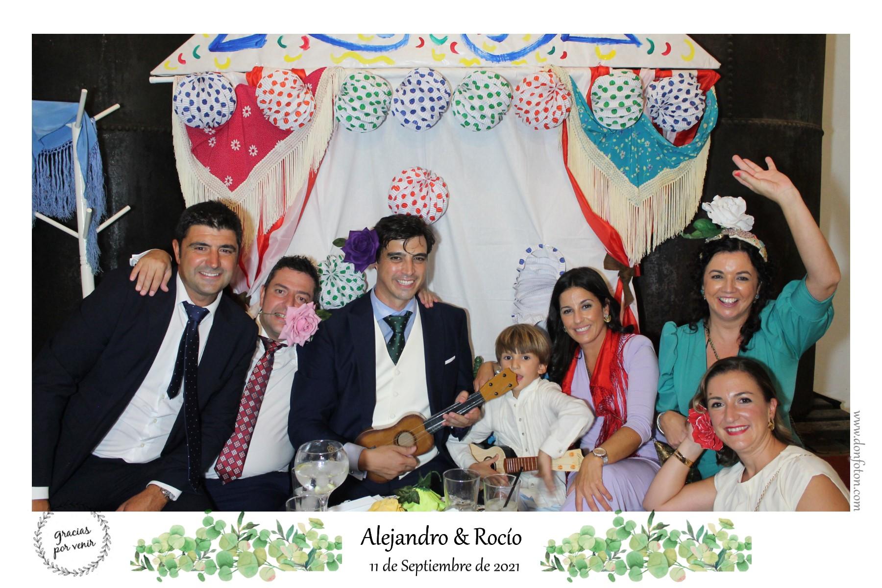Alejandro y Rocio