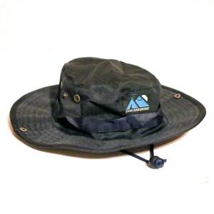 Navy blue don hardware cargo bucket hat