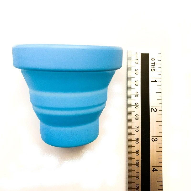 Silicon cups measured