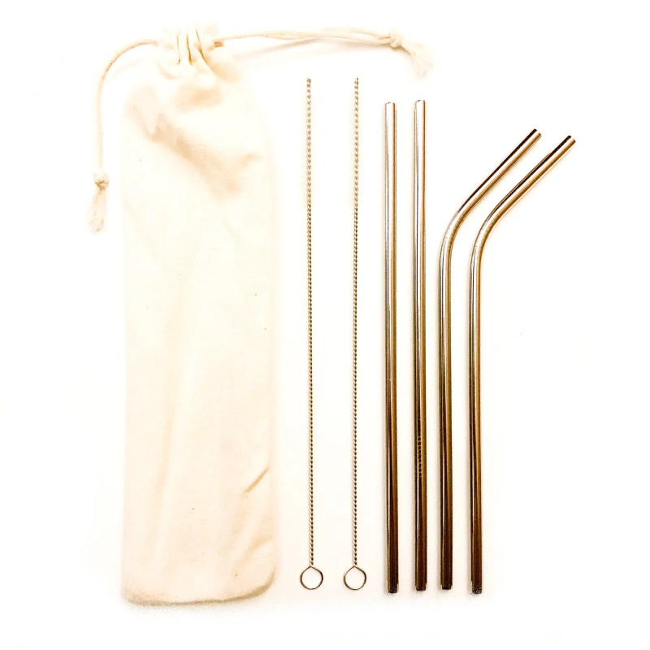 Steel straw kit