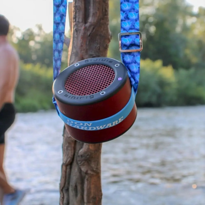 Don Hardware cup holder with speaker