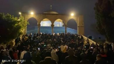 Photo of قوات الاحتلال تقتحم المسجد الأقصى وتعتدي على المصليين