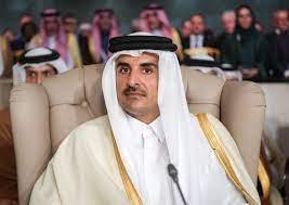 أمير قطر يلتقي رئيس مجلس سيادة السودان