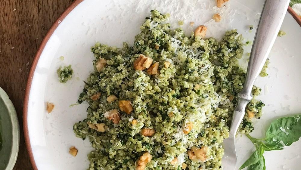 Quinua al Pesto