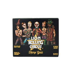 gold-hemps-lion-rolling-circus