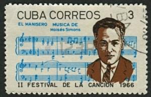 21239029-cuba--circa-1966-a-stamp-printed-in-cuba-shows-image-of-the-moises-simons-born-moises-simon-rodrigue