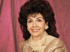 A photo session featuring Annette Funicello from the set of the made-for TV movie, A Dream Is a Wish Your Heart Makes: The Annette Funicello Story. Image dated September 4, 1995. Copyright © 1995 CBS Broadcasting Inc. All Rights Reserved. Credit: CBS Photo Archive.