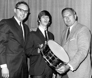 3 Dick Schory - Ringo Starr - Bill Ludwig 1964