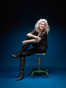 "Judy Collins - Judith Marjorie ""Judy"" Collins, American singer and songwriter known for her eclectic tastes and for her social activism. Photographed in New York 1/7/2015"