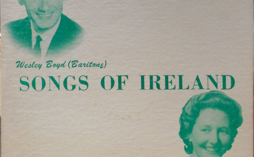 Wesley Boyd- Songs of Ireland