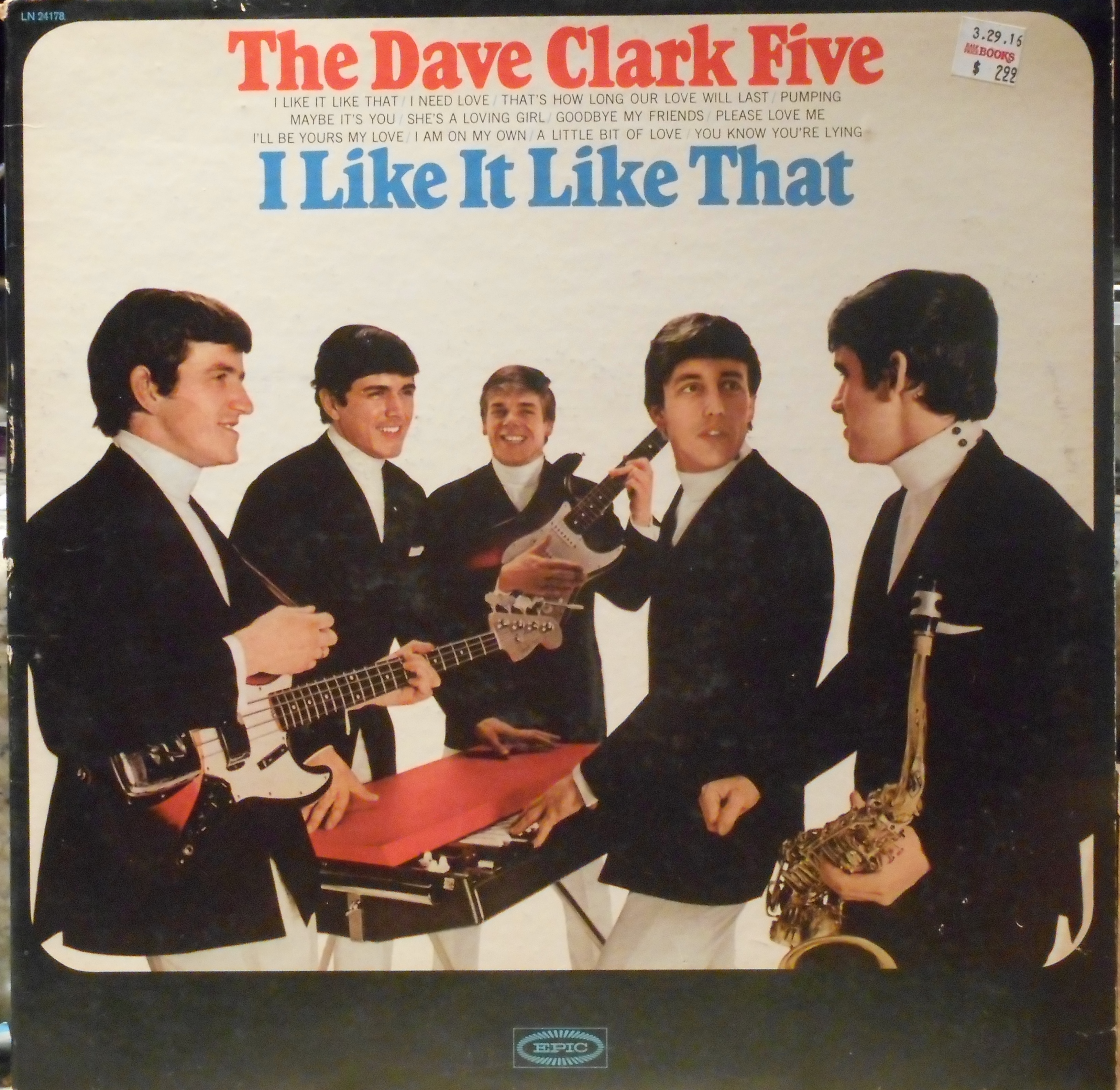 The Dave Clark Five Volume 1 - Glad All Over - Return ! - American Tour