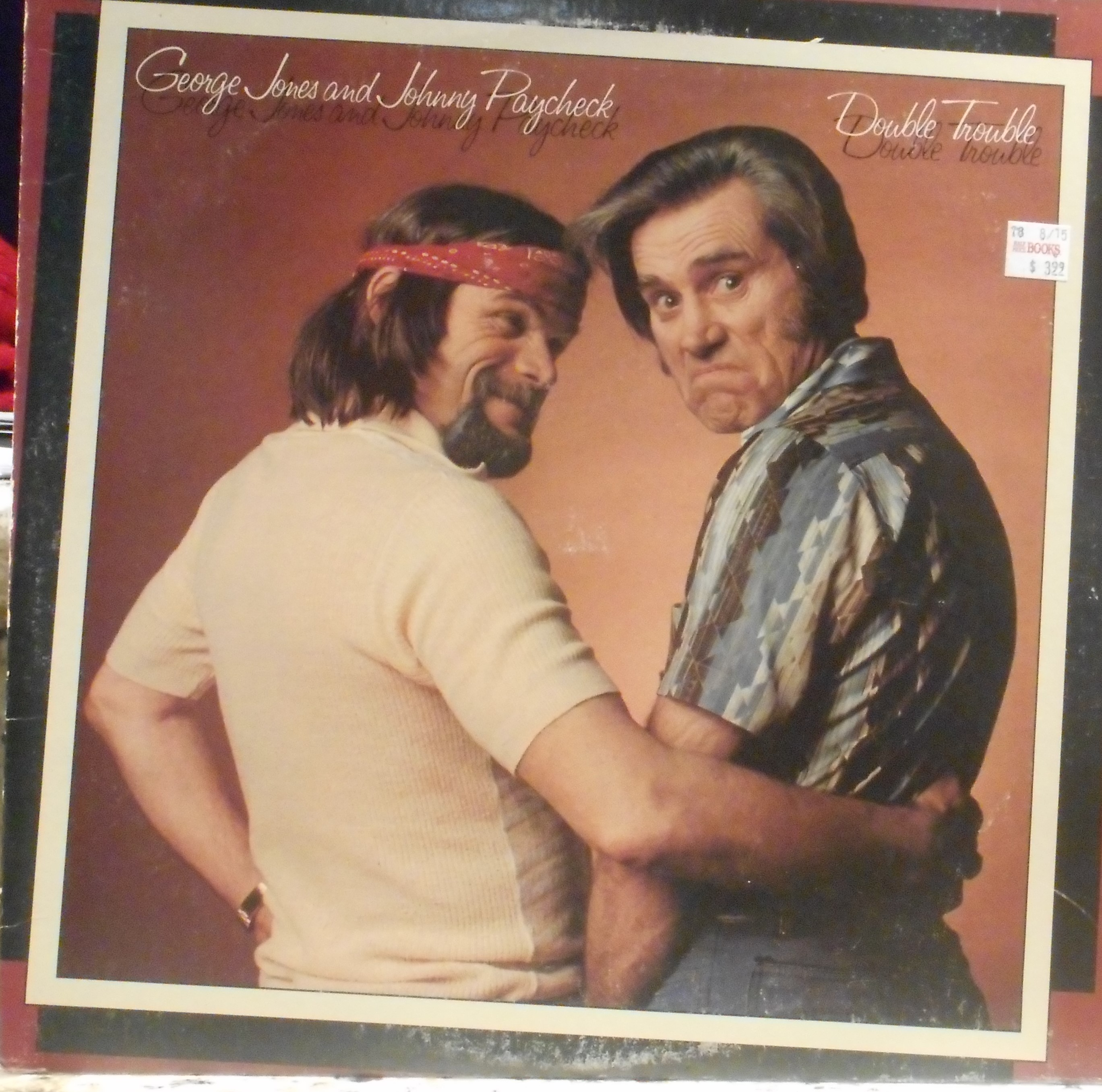 Johnny Paycheck And George Jones Double Trouble Donkey Show