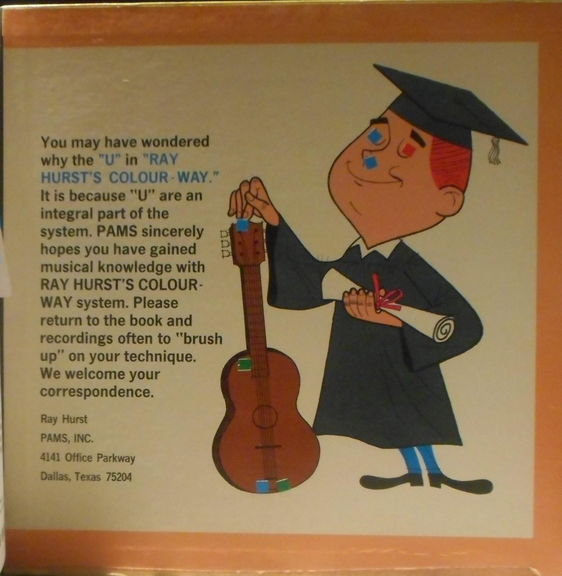 Ray Hurst- Colour-way Guitar Instruction Book – DONKEY-SHOW