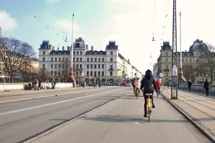 Bike lanes everywhere!