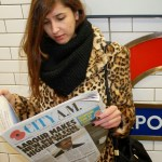 Lost in… London. A leopard on the streets