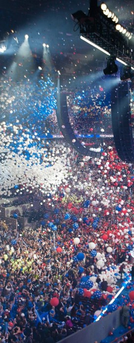 DNC Balloon Drop