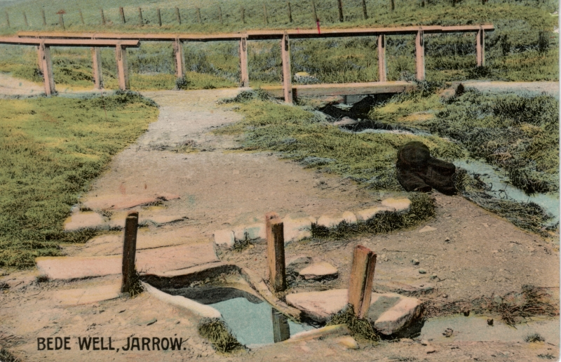 St. Bede's Well in 1908