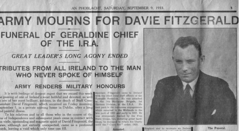 fitzgerald funeral report