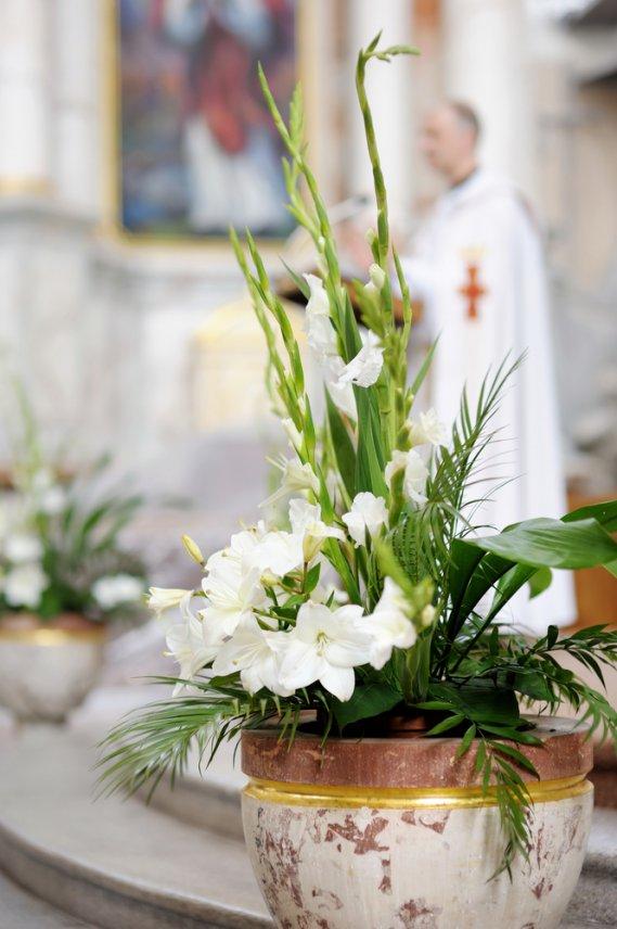 Quali fiori per la chiesa  DonnaD