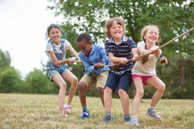 Giochi Di Squadra Per Bambini Da Fare Allaperto Donnad
